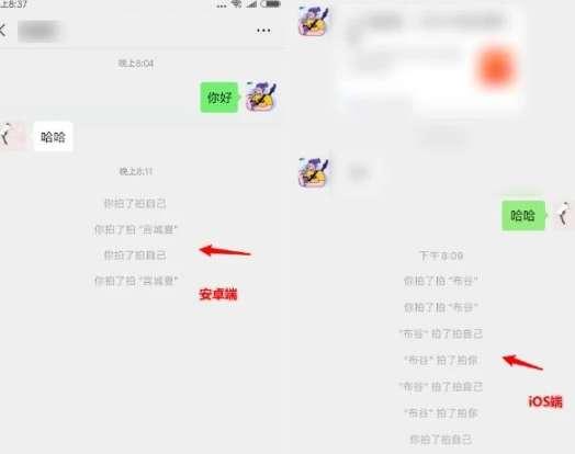 微信拍了拍怎么修改文字?拍拍你可爱后缀文字分享