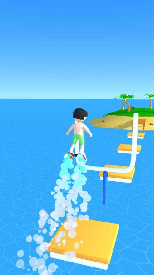 Flyboard跑步3D