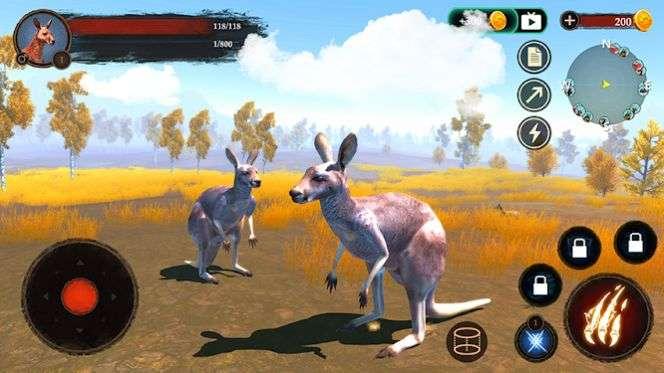 袋鼠生存战斗模拟器