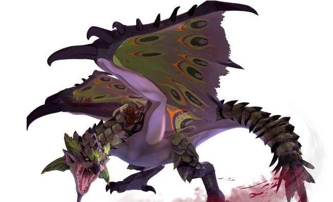怪物猎人物语2紫毒姬