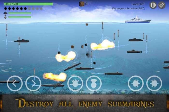 海战潜艇战