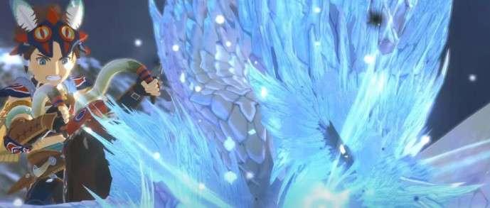 怪物猎人物语2冰呪龙