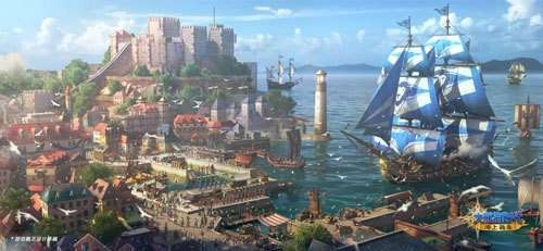 《大航海时代:海上霸主》制作人蓝贴城市篇:从西洋到东方!探索繁星般的城市吧
